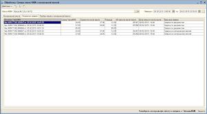Сравнение контрольной ленты ККМ с документами Чек ККМ за период Обработка по сверке контрольной ленты фискального регистратора с документами Чек ККМ за указанный период