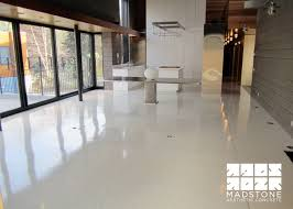 concrete floors for residential homes in boston and