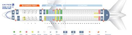 Seat Map Boeing 757 200 United Airlines Best Seats In Plane