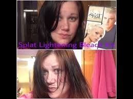 Splat Bleach Timing Chart Splat Hair Bleach Timing Chart Lajoshrich Com