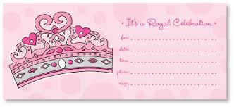 Royal Celebration Invitation Everything Princesses