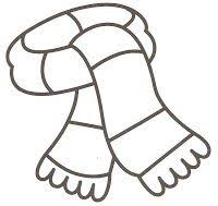Small Picture Stocking hat coloring page Winter activities Pinterest