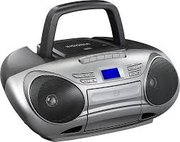 Small Cd Player For Bedroom Insignia Cd Cassette Boombox With Am Fm Radio Black Ns Bcdcas1