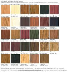 Varathane Classic Wood Stain Color Chart Varathane Black Cherry Wood Stain 10stepsinfo Info