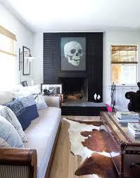 awesome beach house sofa living room with cowhide rug decor ideas