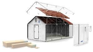 Foldable Houses 1000 Foldable Solar Powered House Designed By Ikea To