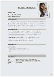 Curriculum Vitae Resume Cv Resume Sample Pdf Outstanding 58 Fantastic Curriculum Vitae