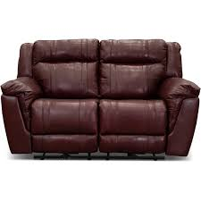 chili pepper red power reclining loveseat t