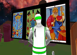 on sunday october 7 at 4 00 pm pacific time i will be hosting an hourlong tarot reading event in vr at altevr if you have a headset like an oculus