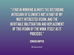 I find in working always the disturbing intrusion of elements not ... via Relatably.com