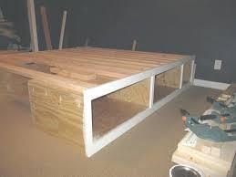diy queen platform bed with storage queen bed with storage plans platform size frame within queen