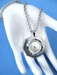 necklace lucerne swiss pendant watch