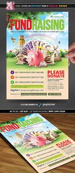 fundraising poster flyer by minkki graphicriver fundraising poster flyer flyers print templates