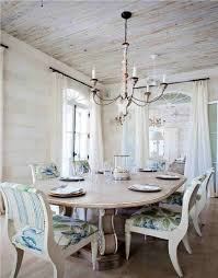 shabby chic chandelier dining