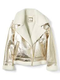 to view details zoom in loading cozy faux leather biker jacket
