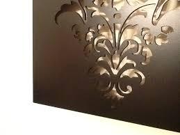 fleur de lis laser cut wall art large felt