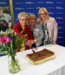Mrs Audrey Rice, Marian Greenshields, Tina Cooper - Resthaven