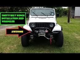 smittybilt xrc winch install jeep wrangler yj smittybilt xrc winch install jeep wrangler yj