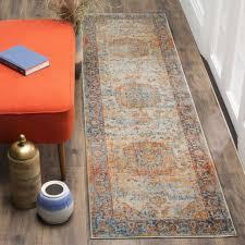 safavieh vintage persian blue multi distressed runner rug 2 2