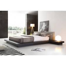 modern style bedroom furniture. modrest opal modern wenge u0026 grey platform bed style bedroom furniture