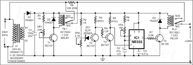 high voltage cutoff circuit diagram high image high low voltage cutoff timer circuit project on high voltage cutoff circuit diagram