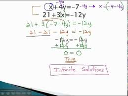systems of equations special cases