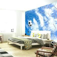 soccer wall murals football murals for bedrooms football blue sky photo wallpaper soccer wall mural custom