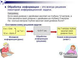 Презентация на тему ОБРАБОТКА ИНФОРМАЦИИ Пестова Ирина  2 Обработка информации