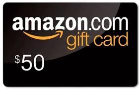 amazon 50 dollar gift card