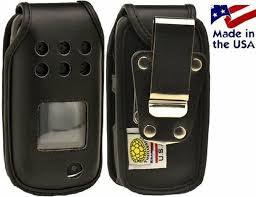 Samsung Rugby 3 A997 Black Leather ...