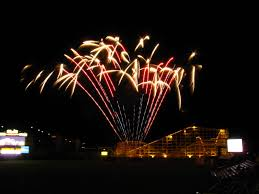 Lights At Lakemont Park File 1853 Altoona Fireworks Over Blair County Ballpark