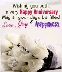 Happy Anniversary Quotes Extraordinary Wishing You BothA Very Happy Anniversary May All Your Days Be