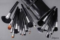 24 pcs professional mac makeup brush set women brushes