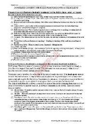 Informed Consent Form. Informed Consent Form Template Rubybursa ...