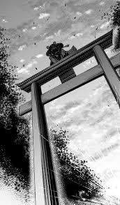鳥居をくぐる時はお辞儀をする こゆび さんのイラスト ニコニコ静