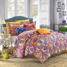 chic home mumbai reversible luxury bed in a bag comforter set com