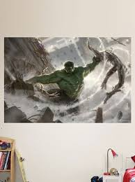 hulk avengers fathead huge wall graphic mural on marvel comics mural wall graphic with hulk avengers fathead huge wall graphic mural hulk avengers and