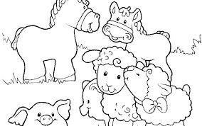 Farm Coloring Pages Preschool Farm Animals Coloring Pages For