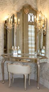 Guilded French Dressing Table With Three Way Mirror Can You Say