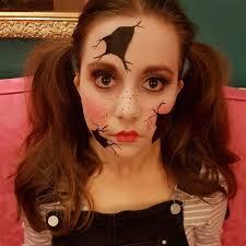 broken porcelain doll insram worthy makeup ideas