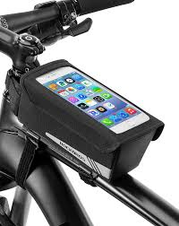 : <b>ROCK BROS Bike</b> Front Frame Bag <b>Bicycle</b> Top Tube Phone Bag ...