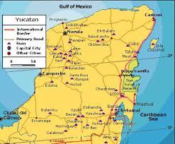 map of yucutan maya ruins mapa campeche mayan city chactún Mayan Cities Map map of yucutan maya ruins mapa campeche mayan city chactún, piedra roja o piedra grande pinterest maya, cancun and riviera maya mayan city map