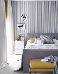 Wallpaper For Living Room Feature Wall Make Your Bedroom Gorgeous With Wallpaper The Room Edit