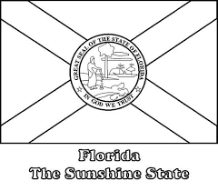 Small Picture Florida State Flag Coloring Page Color Luna