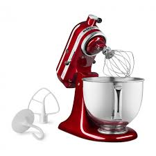 kitchenaid ksm150psgd ruby red artisan 5 quart 325 watt stand mixer