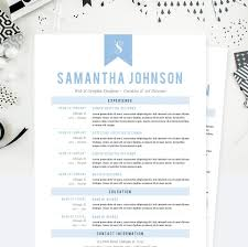 baby blue web designer cv resume cover letter amp references template package