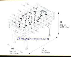foosball table dimensions. Foosball Table Dimensions Extraordinary On Home Decorating Ideas With Tournament Human L