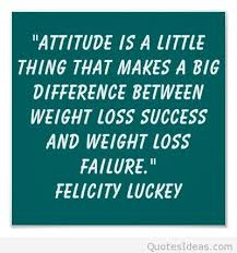attitude quote saying with felicity luckey