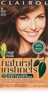Natural Instincts Creme Color Chart Amazon Com Clairol Natural Instincts Hair Color 20 Hazelnut