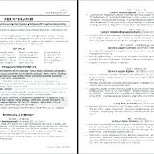 Desktop Support Resume Sample Beauteous Desktop Engineer Resume Best Resume Template Whizzme